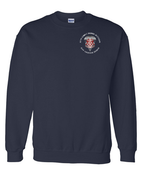 307th Engineers Embroidered Sweatshirt-M