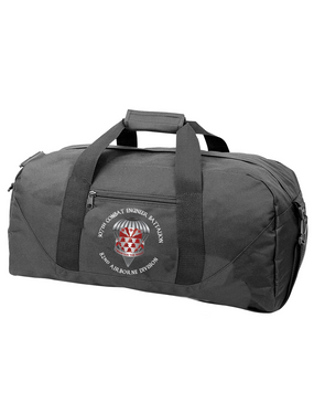 307th Engineers Embroidered Duffel Bag-M