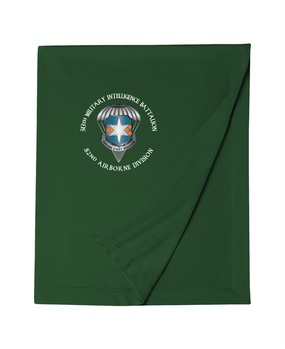 313th MI Battalion Embroidered Dryblend Stadium Blanket-M