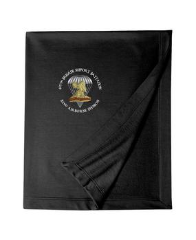 407th Brigade Support Battalion Embroidered Dryblend Stadium Blanket-M
