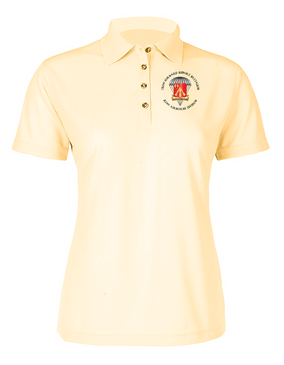 Ladies 782nd Maintenance Battalion  Embroidered Moisture Wick Polo Shirt  (C)-M