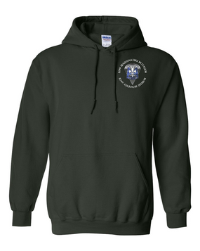 82nd Hqtrs & Hqtrs Battalion Embroidered Hooded Sweatshirt-M
