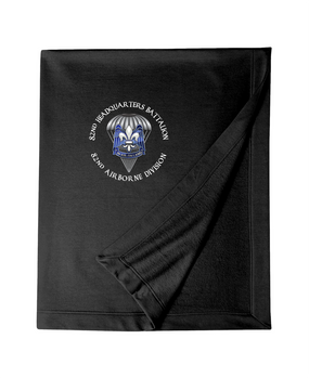 82nd Hqtrs & Hqtrs Battalion Embroidered Dryblend Stadium Blanket-M