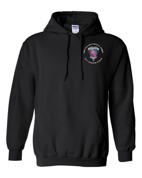 508th Parachute Infantry Regiment (Parachute) Embroidered Hooded Sweatshirt-M