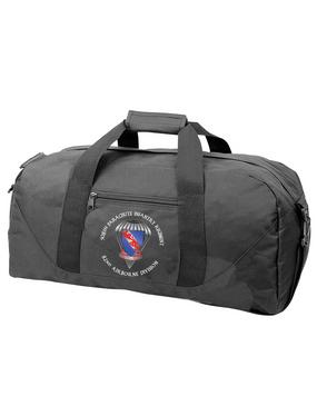 508th Parachute Infantry Regiment  (Parachute) Embroidered Duffel Bag-M