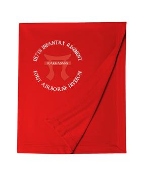 "187th RCT ""Torri"" Embroidered Dryblend Stadium Blanket"