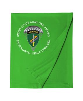 U.S. Army Civil Affairs Embroidered Dryblend Stadium Blanket