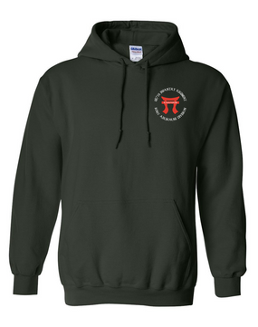 "187th RCT ""Torri"" Embroidered Hooded Sweatshirt"