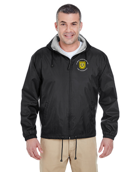 1st Special Forces Group Embroidered Fleece-Lined Hooded Jacket