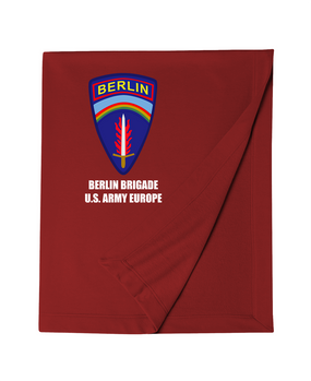 Berlin Brigade Embroidered Dryblend Stadium Blanket