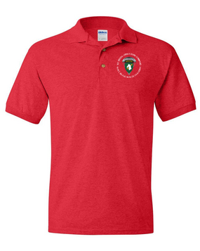 U S Army Units 1st Special Operations Command Polo Shirts