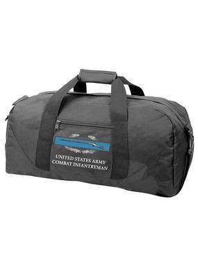 Combat Infantry Badge (CIB) Embroidered Duffel Bag