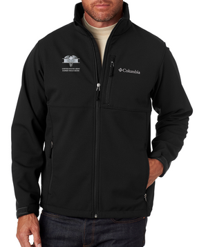 Expert Field Medical Badge (EMB) Embroidered Columbia Ascender Soft Shell Jacket