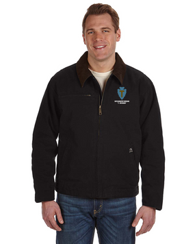 "36th Infantry Division ""T-Patchers"" Embroidered DRI-DUCK Outlaw Jacket"
