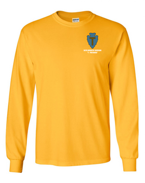 "36th Infantry Division ""T-Patchers"" Long-Sleeve Cotton T-Shirt"