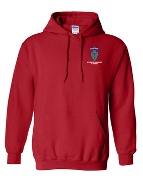 36th Infantry Division (Airborne) Embroidered Hooded Sweatshirt
