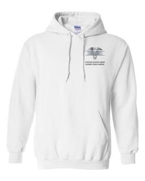 Expert Field Medical Badge (EFMB) Embroidered Hooded Sweatshirt