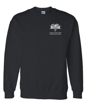 Expert Field Medical Badge (EFMB) Embroidered Sweatshirt