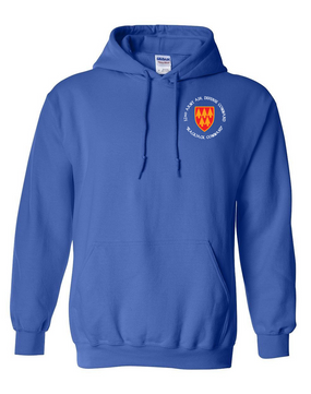 32nd Army Air Defense Command (C) Embroidered Hooded Sweatshirt