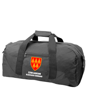 32nd Army Air Defense Command Embroidered Duffel Bag