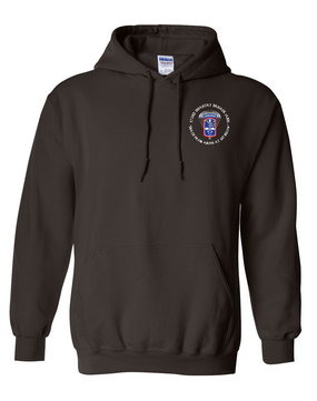 172nd Infantry Brigade (Airborne) (C)  Embroidered Hooded Sweatshirt