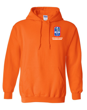 "172nd Infantry Brigade ""Blackhawk"" Embroidered Hooded Sweatshirt"