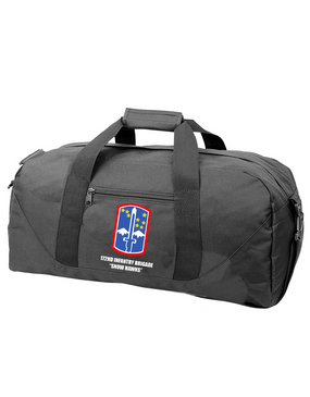 """172nd Infantry Brigade """"Snow Hawks"""" Embroidered Duffel Bag"""