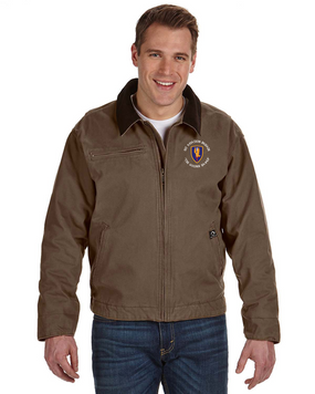 1st Aviation Brigade (C)  Embroidered DRI-DUCK Outlaw Jacket