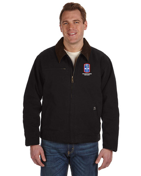 """172nd Infantry Brigade """"Snow Hawks"""" Embroidered DRI-DUCK Outlaw Jacket"""