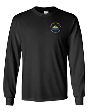 United States 7th Army (C)  Long-Sleeve Cotton T-Shirt