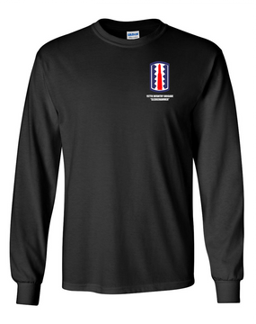 "197th Infantry Brigade ""Sledgehammer""  Long-Sleeve Cotton T-Shirt"