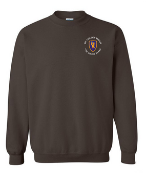 1st Aviation Brigade (C)  Embroidered Sweatshirt