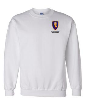 1st Aviation Brigade Embroidered Sweatshirt
