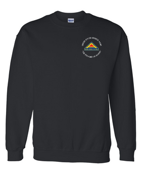 United States 7th Army (C)  Embroidered Sweatshirt