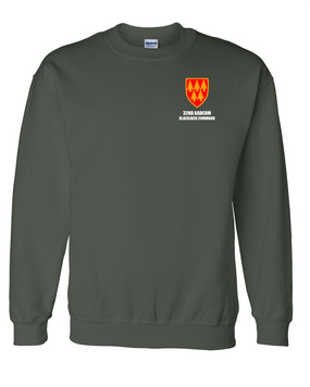 32nd Army Air Defense Command  Embroidered Sweatshirt