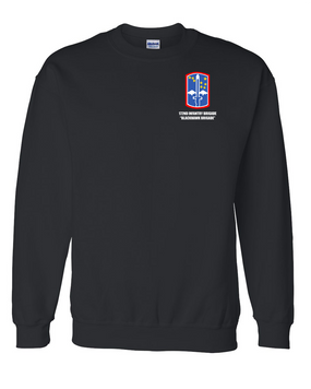 "172nd Infantry Brigade ""Blackhawk""  Embroidered Sweatshirt"