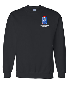 "172nd Infantry Brigade ""Snow Hawks""  Embroidered Sweatshirt"