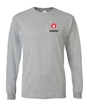 20th Engineer Brigade Long-Sleeve Cotton T-Shirt