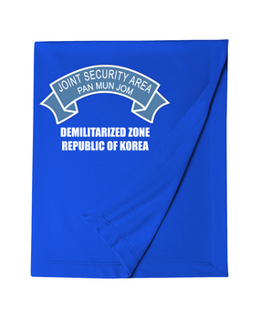 Joint Security Area (JSA) Embroidered Dryblend Stadium Blanket