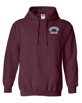 Joint Security Area (JSA) Embroidered Hooded Sweatshirt