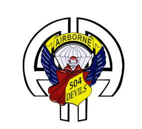 504th Parachute Infantry Regiment  AA  Challenge Coin