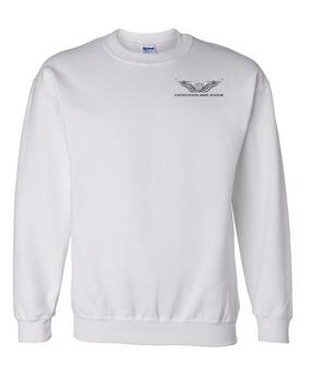US Army Aviator Embroidered Sweatshirt