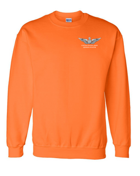 US Army Senior  Aviator Embroidered Sweatshirt
