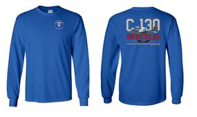 """2/501st Parachute Infantry Regiment """"C-130"""" Long Sleeve Cotton Shirt"""