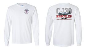 """508th Parachute Infantry Regiment  """"C-130"""" Long Sleeve Cotton Shirt"""