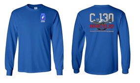 "173rd Airborne Brigade  ""C-130""  Long Sleeve Cotton Shirt"