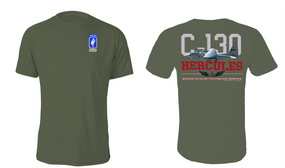 "173rd Airborne Brigade  ""C-130"" Cotton Shirt"