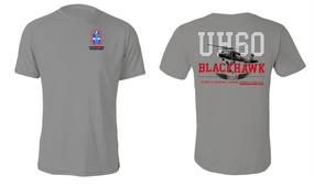 "172nd Infantry Brigade (Blackhawk)  ""UH-60"" Cotton Shirt"