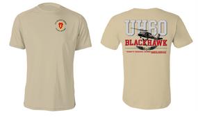 "26th Infantry Regiment  ""UH-60"" Long Sleeve Cotton Shirt"