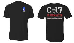 "173rd Airborne Brigade ""C-17 Globemaster"" Cotton Shirt"